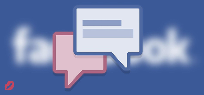 how to start a conversation on facebook